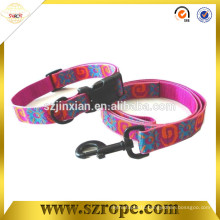 Red color pet products,dog collars & dog leashes