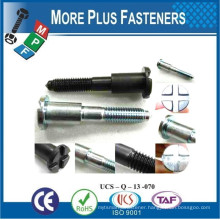 Made in Taiwan Special Flange Hex Flange plus Nut Special Automotive Screw Bolt and Parts
