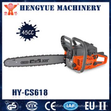 Sierra de cadena con alta calidad y operador fácil