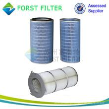FORST baixo preço de fábrica industrial de entrada de ar cartuchos de filtro com alta eficiência