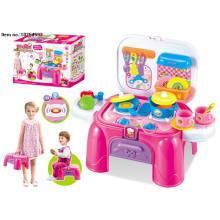Bloquer la chaise de stockage jouets pour les enfants