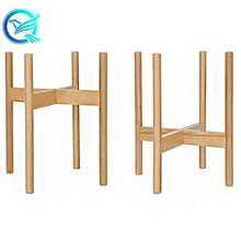 Qinge Good Price Bamboo Plant Stand Easy To Assemble Bamboo Plant Pot Stand Holder with High Quality