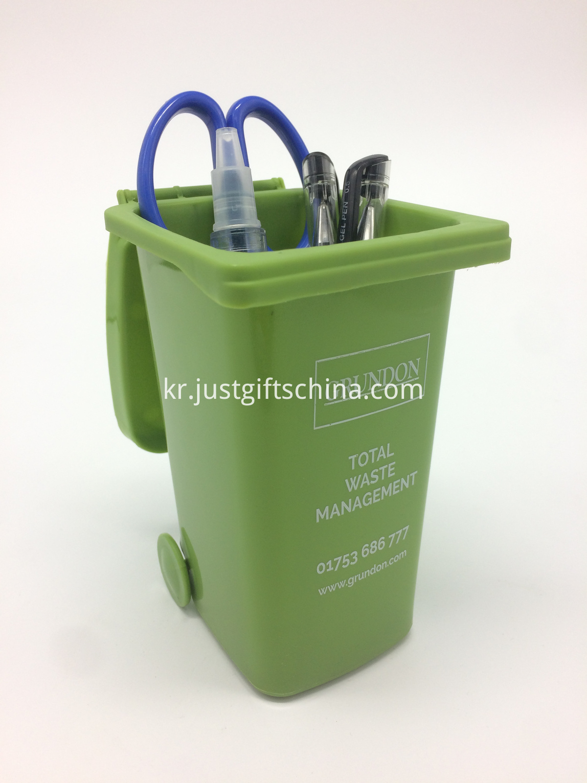 promotional plastic pen holder