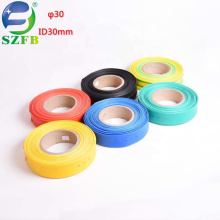 Feibo factory supplier PE customized printing 30mm low voltage single wall heat shrink tubing
