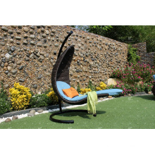 Unique Design Outdoor Patio Garden Wicker Swing Chair PE Rattan Hammock