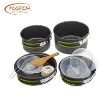 1SET Portable Folding Camping Cookware Mess Kit