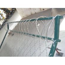 Razor Barbed Wire Protección Esgrima Serie
