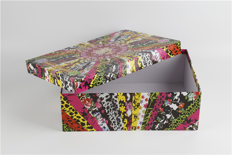 Cardboard Lid And Base Shoe Box