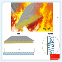 High Quality Hydrophobic Mineral Wool Sandwich Panel for Wall