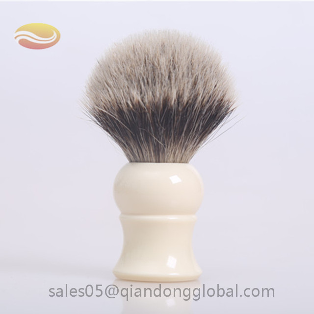 Bulb Shape Badger Hair Knot Shaving Brush