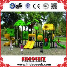 Commercial Children Slide Equipment Plastic Outdoor Playground