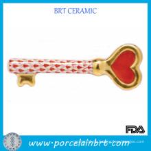Porzellan-Schlüssel zu meinem Herz-Valentinsgruß-Geschenk