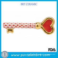 Porcelain Key to My Heart Valentine Gift