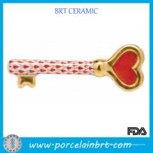 Porzellan Schlüssel zu meinem Herz Valentinstag Geschenk