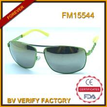 Gafas de sol unisex de Metal con espejo lente por mayor en China