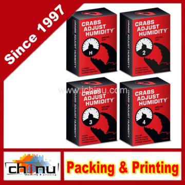 Krabben passen Luftfeuchtigkeit Spielkarte - 4-Pack (Vol. 1-2-3-4) (431011)