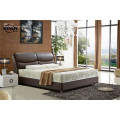 Kingsize Deluxe Leather Fabric Bed