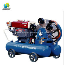5bar 3 cylinder mining used piston air compressor