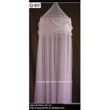 Кружевная розовая противомоскитная сетка
