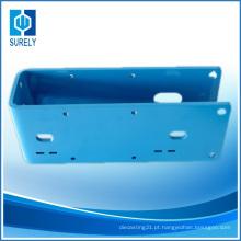 Alta precisão alumínio CNC usinagem morrer peças de válvula de fundição (ts16949)