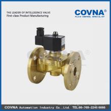 0-16 bar latão 12v dc válvula solenóide de alta pressão 24v 110v 220v