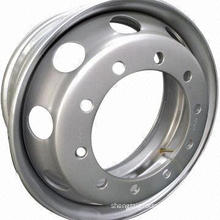 Steel Wheel Rim/Truck Rim, OEM Brand is Accepted