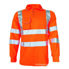 High visibility bird eye polo shirt