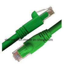 CAT6A Snagless неэкранированный сетевой патч-кабель UTP 10 Gigabit Green