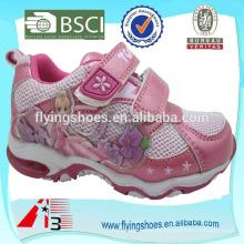 Barato al por mayor $ 1 dólar zapatos deportivos para las niñas con hadas
