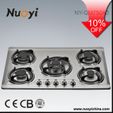 HOT Selling 5 Burners Stainless Steel Gas Stove Gas Cooker