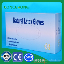 Skin or White Color Latex Gloves