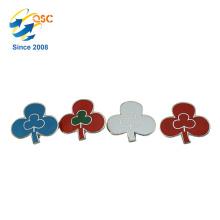 Kundenspezifischer Meta-harter Emaille-Pin-Blumen-Entwurf