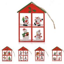 nouvelle maison de Noël populaire en forme de décoration de plafond de Noël