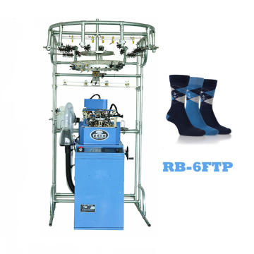 Cheap price for Single Cylinder Sock Knitting Rainbowe computer soccer sock knitting machine for sale supply to Senegal Factories
