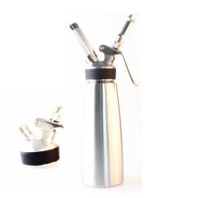 Nuevo Whipperior | Acero Inoxidable de Grado Alimentario 1 pinta Dispensador de Crema Batida / Crema Whipper con 3 Decoraciones