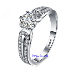 Hot Sell Jewelry- Cubic Zirconia Brass Rings (R0835)