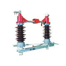33kV Открытый высоковольтный разъединитель изолятора высокого напряжения (GW4-40.5)