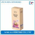 Carré de bouteille de crème de main de Sencai fait sur commande ou boîte de papier de rectangle