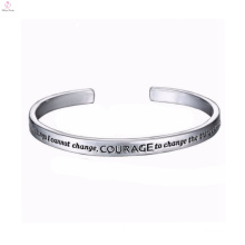 2017 Elastic Stainless Steel Bangle Enamel Bracelet
