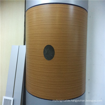 Bamboo Texture Arc Shaped Honeycomb Panels for Column Covering