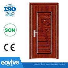 Diseño barato puerta de seguridad de ghana
