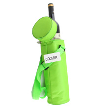 Adjustable Shoulder Insulated Bottle Cool Bag