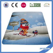 2016 heißer Verkauf Förderung Polar Fleece Benutzerdefinierte Druck Polyester Decke