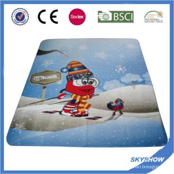 Выдвиженческий изготовленный на заказ Логос печати флис одеяло (SSB0210)