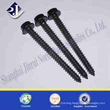 Wood Screw with Black Zinc