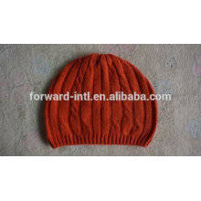 OEM Custom Adults Knitting Cashmere Cap Beanies for Winter