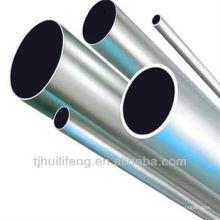ASTM gaz / huile / eau / transport chimique tuyau en acier inoxydable