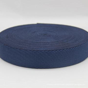 Hot Sale Dark Blue Polyester / Nylon Webbing / Ribbon / Strap / Tape for Bags