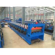 automatic building metal floor decking making machine