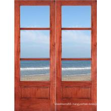 Interior Modern Solid Teak Wood Door Price